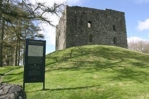 Lydford Castle, Devon by Peter Thompson