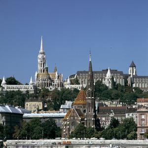Matthias Church, Hilton Hotel, Budapest, Hungary by Peter Thompson