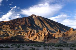 Mount Teide Volcano, Parque Nacional Del Teide, Tenerife, Canary Islands, 2007 by Peter Thompson