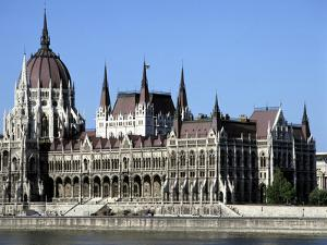 Parliament Building, Budapest, Hungary by Peter Thompson