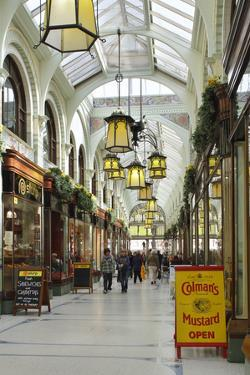 Royal Arcade, Norwich, Norfolk, 2010 by Peter Thompson