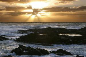 Seascape, Fuerteventura, Canary Islands by Peter Thompson