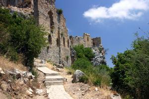 St Hilarion Castle, North Cyprus by Peter Thompson