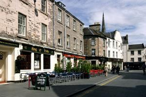 St Johns Place, Perth, Scotland by Peter Thompson