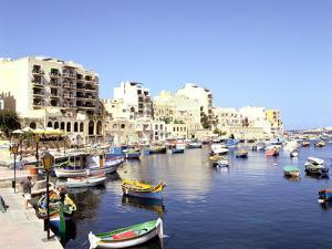 St Julians Bay, Malta by Peter Thompson