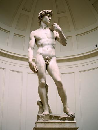 Statue of David, Accademia Gallery, Florence, Italy