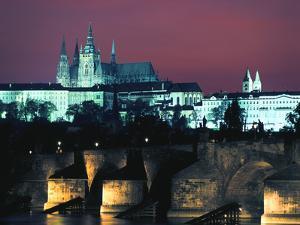 The Castle, Prague, Czech Republic by Peter Thompson