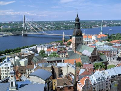 The View from St Peters Spire, Riga, Latvia