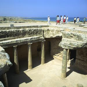 Tombs of the Kings, Paphos, Cyprus by Peter Thompson