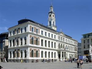 Town Hall, Riga, Latvia by Peter Thompson