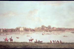 The Thames at Twickenham by Peter Tillemans