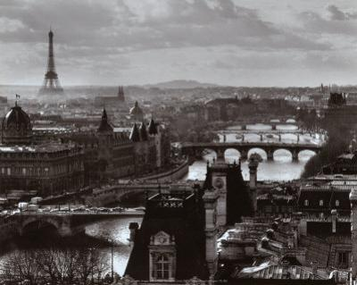 The River Seine and the City of Paris, c.1991 by Peter Turnley