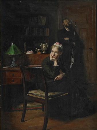 Family Scene in an Interior, 1885