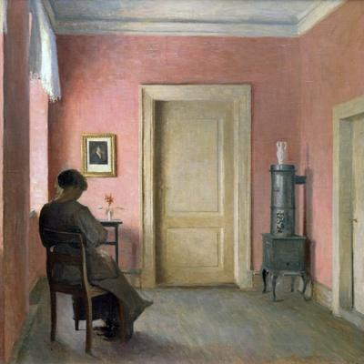 Woman Sitting in an Interior, 1915