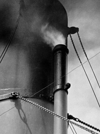 Abstract Close Up of Merchant Ship Steam Whistle by Peter Von Cornelius