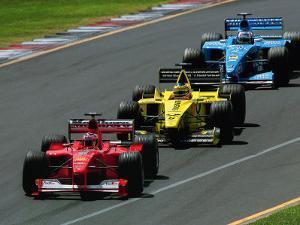 Formula 1 Auto Race by Peter Walton