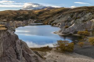 Blue Lake, Saint Bathans, Otago by Peter Walton Photography