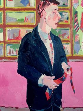 Tie Salesman, 1978 by Peter Wilson