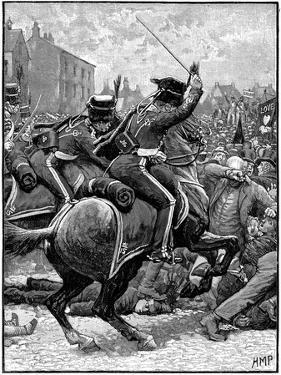 Peterloo Massacre, Manchester, 16 August 1819