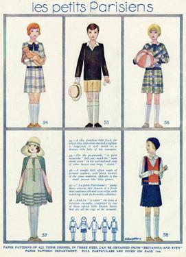 Petit Parisiens 1929