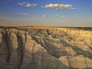 USA, South Dakota, Badlands National Park. Overlook by Petr Bednarik