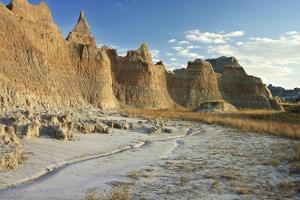 USA, South Dakota, Badlands National Park by Petr Bednarik