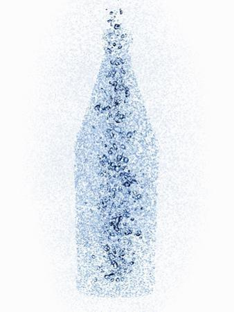 A Bottle with Water Pearls by Petr Gross