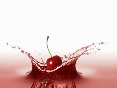 A Cherry Falling into Red Juice by Petr Gross