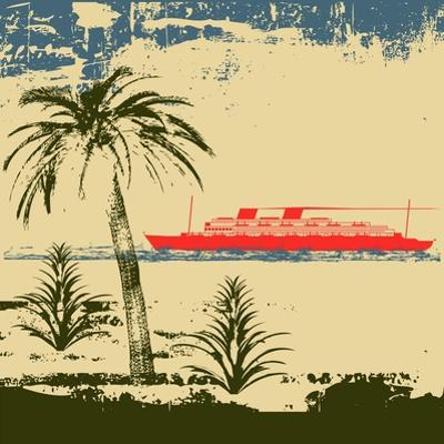 Tropical Cruise Background by Petrafler