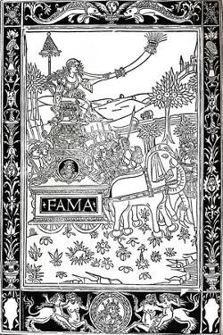 Petrarca: Trionfi, 1488, (1917)