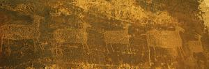 Petroglyphs, Arches National Park, Utah