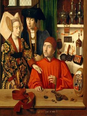 A Goldsmith in his Shop, 1449 by Petrus Christus