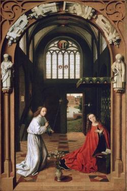 Annunciation, 1452 by Petrus Christus