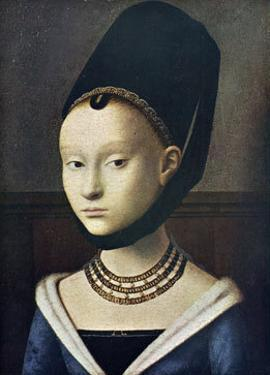 Portrait de Jeune Femme by Petrus Christus