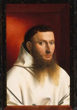 Portrait of a Carthusian, 1446 by Petrus Christus