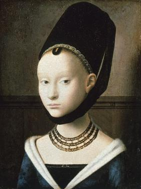 Portrait of Young Girl, 1470 by Petrus Christus