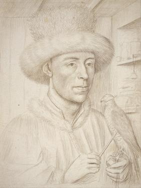 The Falconer by Petrus Christus
