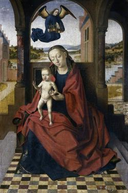 The Madonna and Child, 1460S by Petrus Christus