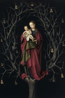 The Virgin of the Dry Tree, Ca 1465 by Petrus Christus