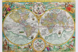 World Map by Petrus Plancius