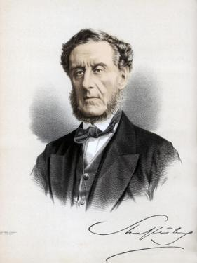Anthony Ashley Cooper, 7th Earl of Shaftesbury, English Politician and Philanthropist, C1890 by Petter & Galpin Cassell