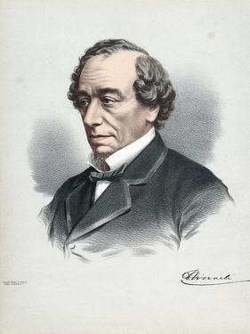 Benjamin Disraeli, 1st Earl of Beaconsfield (1804-188), British Conservative Statesman, C1880 by Petter & Galpin Cassell