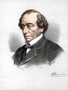 Benjamin Disraeli, 1st Earl of Beaconsfield, British Conservative Statesman, C1890 by Petter & Galpin Cassell