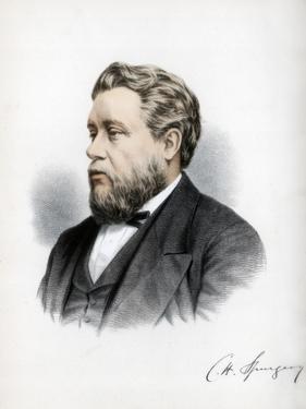 Charles Haddon Spurgeon, British Baptist Preacher, C1890 by Petter & Galpin Cassell