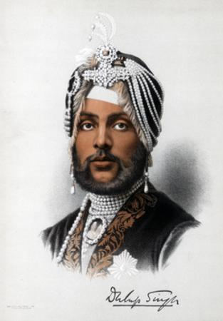 Duleep Singh, Sikh Ruler, C1890 by Petter & Galpin Cassell