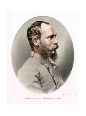 Franz Joseph, Emperor of Austria, C1880 by Petter & Galpin Cassell