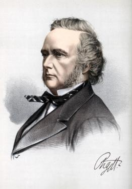 George Campbell, 8th Duke of Argyll, Scottish Liberal Politician and Writer, C1890 by Petter & Galpin Cassell
