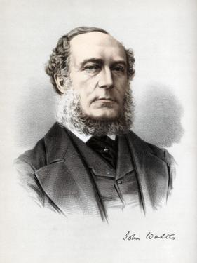 John Walter, British Moderate Liberal Politician, C1890 by Petter & Galpin Cassell