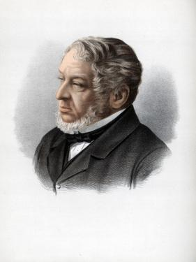 Nathan Rothschild, 1st Baron Rothschild, British Banker and Politician, C1890 by Petter & Galpin Cassell