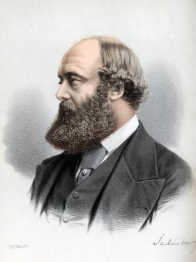 Robert Gascoyne-Cecil, 3rd Marquess of Salisbury, British Statesman and Prime Minister, C1890 by Petter & Galpin Cassell
